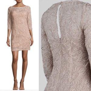 Soutache mesh sheath Dress